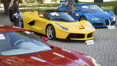 Supercars taken from Equatorial Guinea president's son auctioned