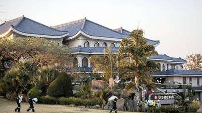 Zanu-PF to transfer ownership of Blue Roof mansion to Mugabe family