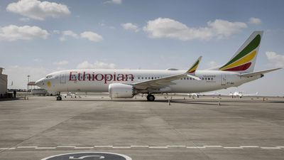 Ethiopian airline plane makes emergency landing when engine catches on fire