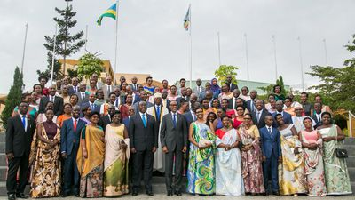 Rwanda breaks world women representation in Parliament.