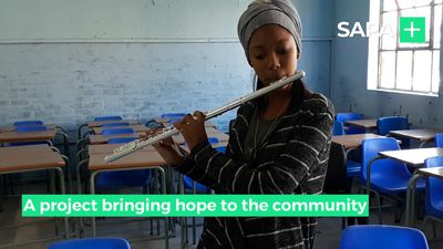Sekunjalo Music Academy bringing hope to community of Delft