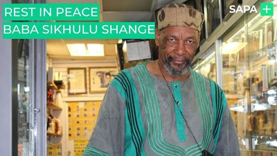 Rest in peace South African cultural icon Baba Sikhulu Shange