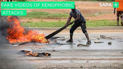 Fake videos of xenophobic attacks