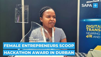 Female entrepreneurs scoop hackathon award in Durban