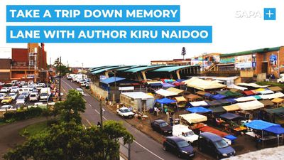 A trip down memory lane with author, Kiru Naidoo