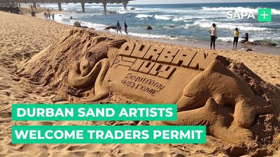 Durban sand artists welcome traders permit