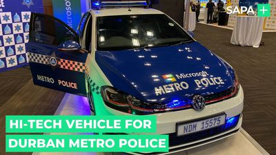 Durban Metro Police unveils hi-tech crime fighting vehicle