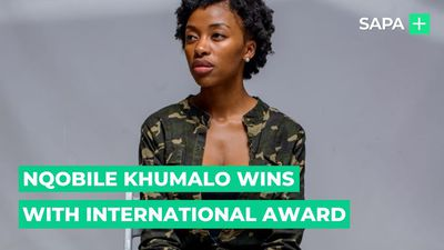 Actress Nqobile Khumalo honoured with International award