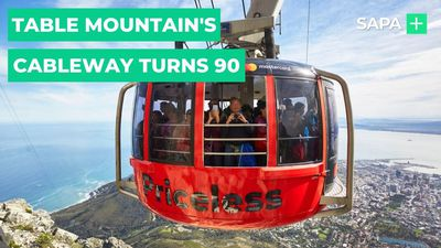 Cape Town's Table Mountain Cableway turns 90