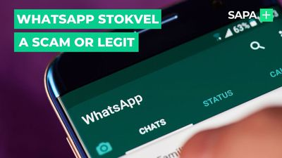 WhatsApp stokvel a scam or legit?