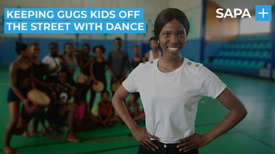 Olwethu Katase keeps Gugulethu kids off the streets using contemporary dance