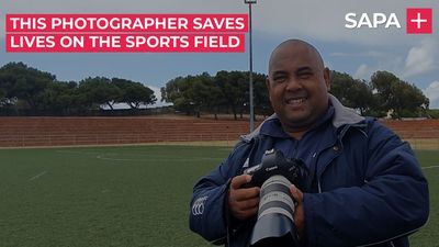 Award winning sports photographer, Rashied Isaacs, saving lives on the Cape Flats