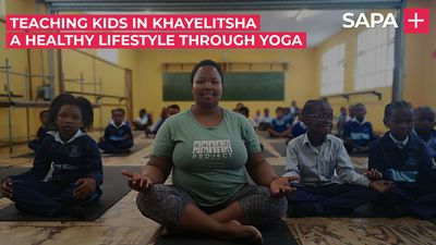 Nokuphiwo Jada, changing the lives of kids in Khayelitsha using yoga
