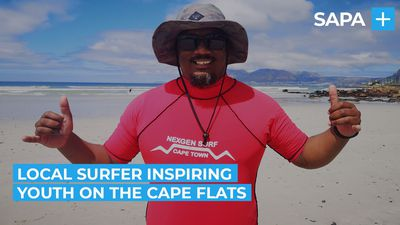 Surfing saved Yani Trout from the streets of the Cape Flats