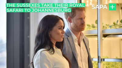 The Duke and Duchess of Sussex take their royal safari to Johannesburg