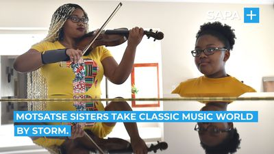 Motsatse sisters take classic music world by storm