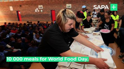 Meals on Wheels, 10 000 meals for World Food Day
