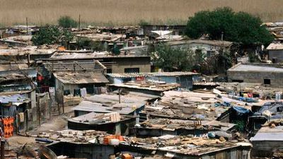 Uganda's poverty level by 2030, according to a Brookings Institute study.