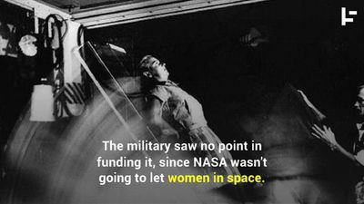 The First Female Astronauts Weren't Allowed Into Space