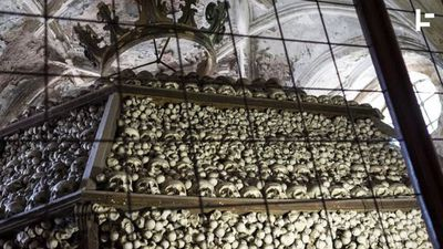 "This ""Bone Church"" Decorates Itself With 40,000 Skeletons"