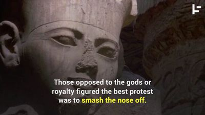 Why Are So Many Egyptian Statues Missing Their Nose?