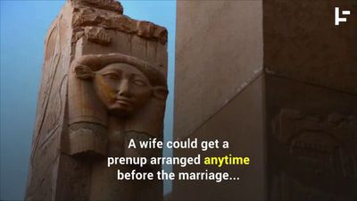 Prenups in Ancient Egypt Were Eight-Feet-Long