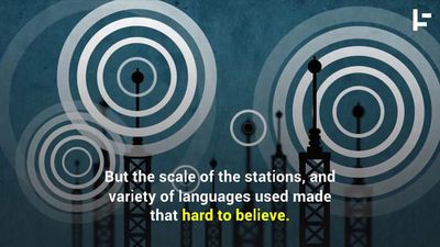 The Spooky World of the 'Numbers Stations'