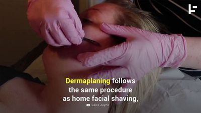 Why More Women Are Shaving Their Faces