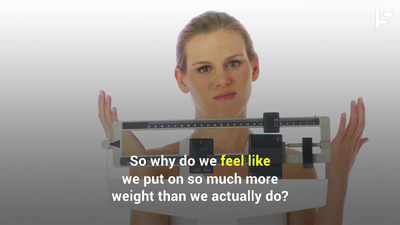 How Much Weight You Gained During The Holidays