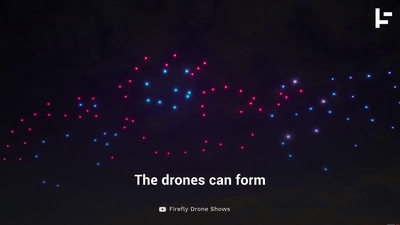 These Drone Shows Are Incredible and Environmentally Friendly