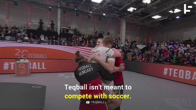 Teqball - The Best Sport You've Never Heard Of