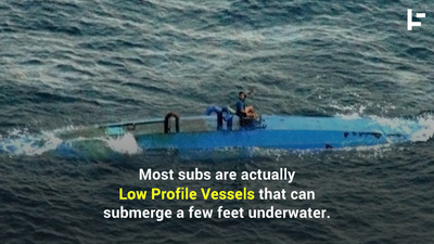 Narco Subs Are the Wave of the Future in Cocaine Smuggling