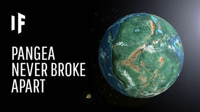 What If Pangea Never Broke Apart?