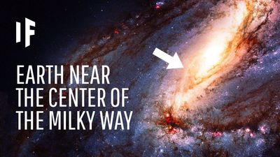 What If Earth Was Near the Center of the Milky Way?