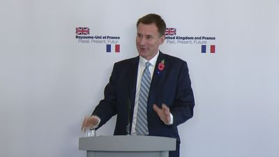 Jeremy Hunt: 'There will be no second referendum'