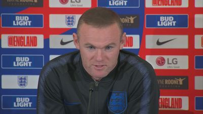 Wayne Rooney ahead of his farewell England appearance