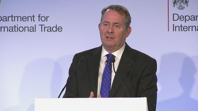 Liam Fox: Withdrawal agreement will provide certainty