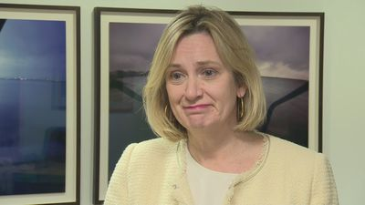 Amber Rudd 'delighted' to become work and pensions secretary