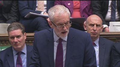 Corbyn: Brexit shambles lies at the foot of May's government