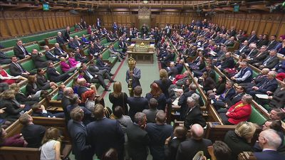 Labour MP grabs ceremonial mace in Brexit protest