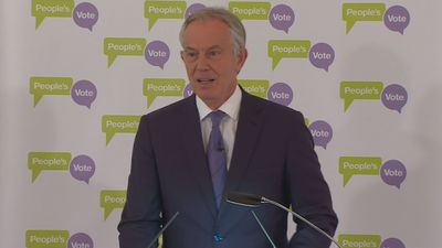 Tony Blair: The country is in crisis
