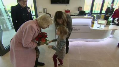 Duchess of Cornwall opens Wiltshire Air Ambulance airbase