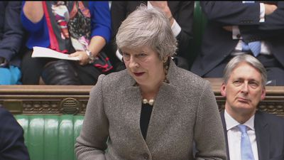May tells MPs their duty is to finish Brexit