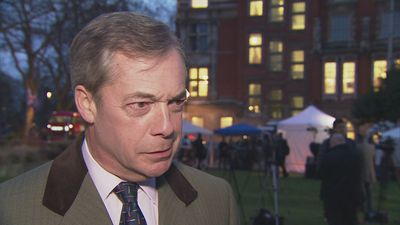 Farage says UK heading for an 'awful stalemate' over Brexit