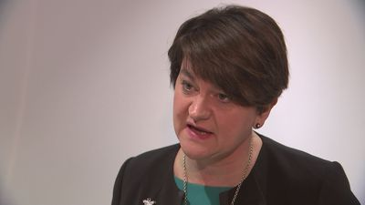 Arlene Foster: Theresa May need to renegotiate with Brussels