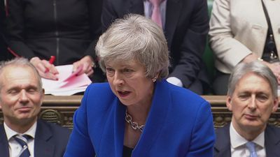 May hits back at Corbyn on Brexit