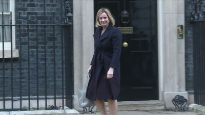 Ministers depart Downing Street after weekly cabinet meeting