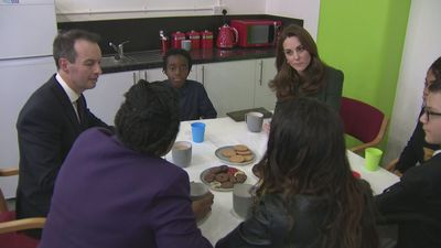 Duchess of Cambridge launches new helpline at Family Action