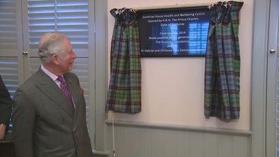 Prince Charles opens new health centre at Dumfries House