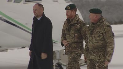 Prince Harry experiences extreme weather of Arctic Circle
